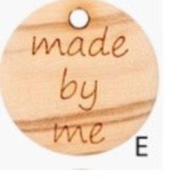 Knoop 'Handmade by me'