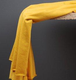 Modal tencel tricot zonnegeel