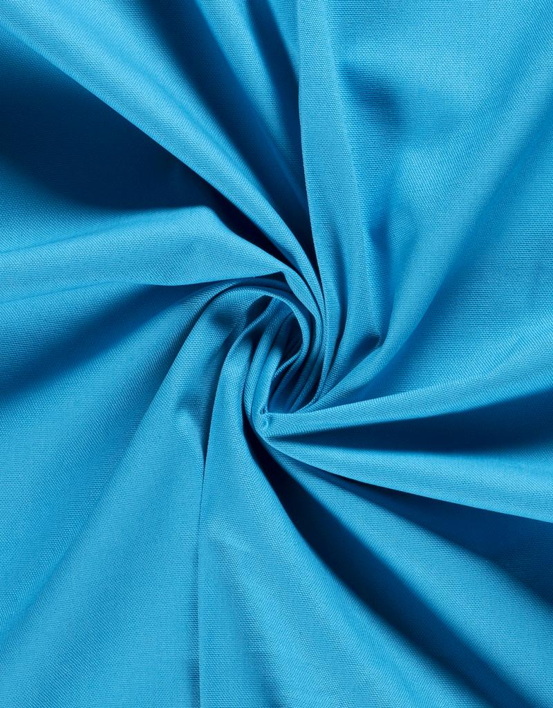 Canvas uni licht blauw