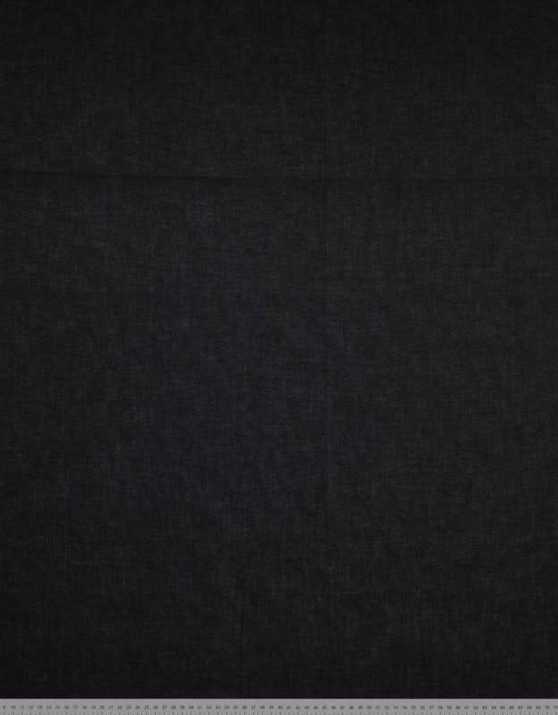 Batist katoen zwart