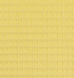 Wafel badstof Nelson geel