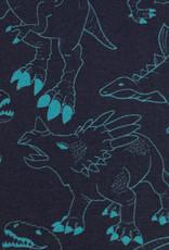 Blue dino's