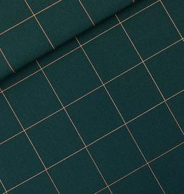 See  You At Six Thin grid canvas green gables