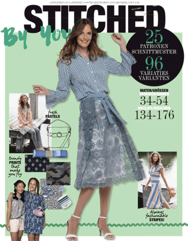 Stitched by you voorjaar/zomer 2019