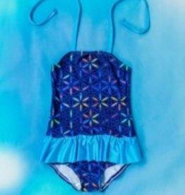Kreta X-life flowers donker blauw