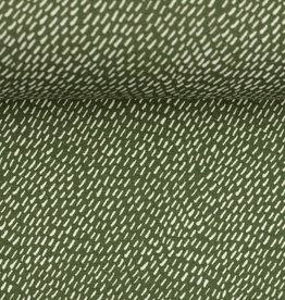 Autumn Bunny green stripes