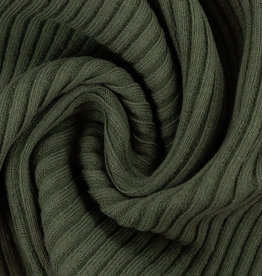 Heiko ribtricot pine green