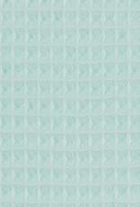 Wafel badstof Nelson  licht mint