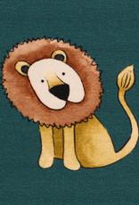 Savanna friends lion
