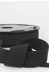 Keperlint 20 mm zwart