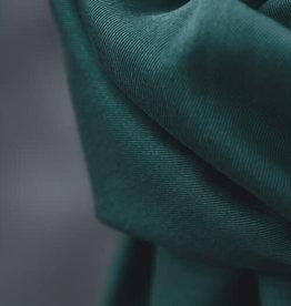 Meet Milk Smooth drape twill  emerald