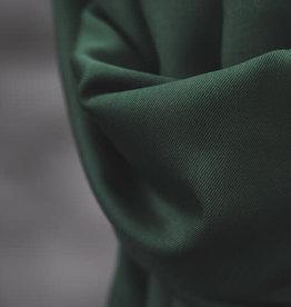 Meet Milk Smooth drape twill  deep green