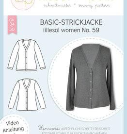 Lillesol und Pelle Basic cardigan n° 59