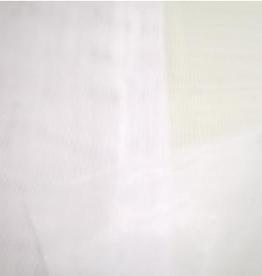 Charmeuse wit per stuk