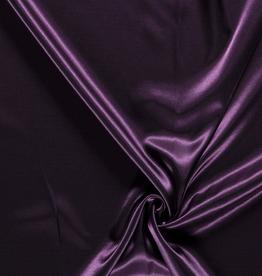 Satijn  donker paars