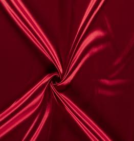 Satijn donker rood
