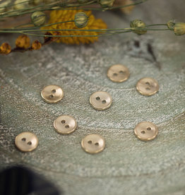 See  You At Six Knoop metaal 10 mm  textuur zacht goud