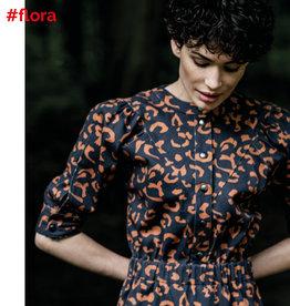 Fibre mood Denim leopard print, Flora