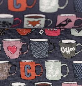 Coffeebreak grijze achtergrond