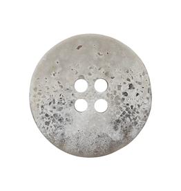 Polyester knoop grijs 25 mm