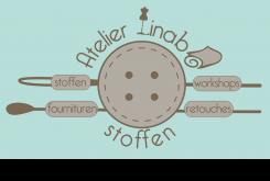 Hippe winkel met assortiment aan stoffen, fournituren en workshops