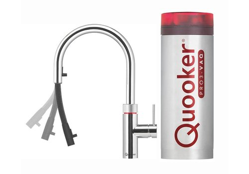 Quooker COMBI+ FLEX  chroom
