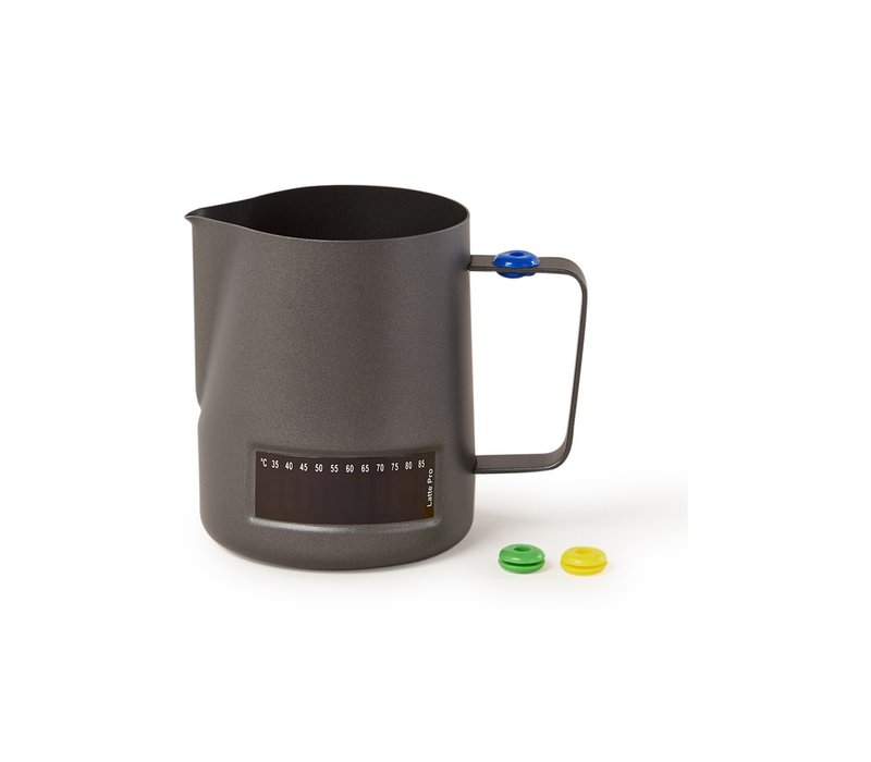 Melkkannetje 0,6 liter zwart