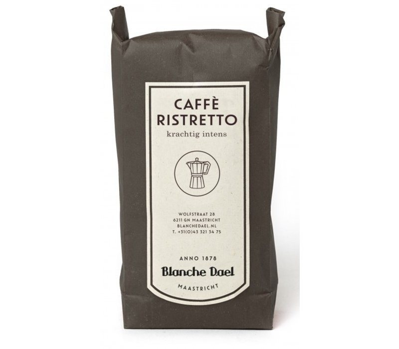 Caffè ristretto koffiebonen