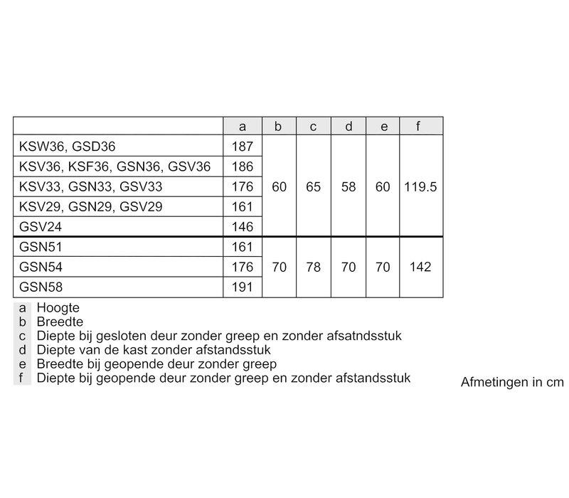 GSN29EWEV NU € 50,- CASHBACK