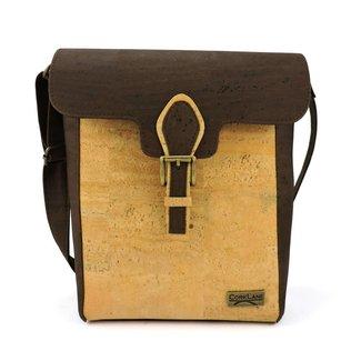 Captain Cork ROBIN - Messenger bag natural/brown