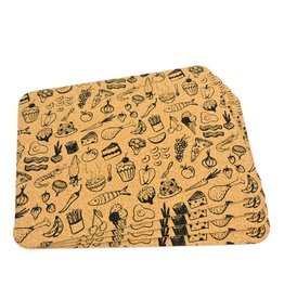 Table mats print Food & Fun