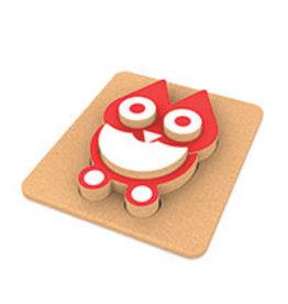 3D Wijze Uilen puzzel
