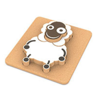 Captain Cork 3D Sleepy sheep puzzle