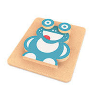 3D puzzle Funny Frog
