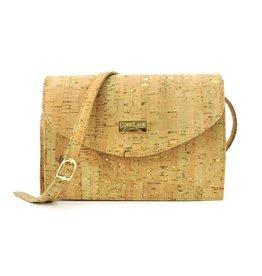 Captain Cork TINNE - Timeless shoulder bag natural/gold