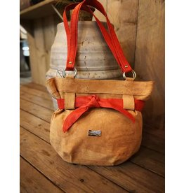 MARIA - Bag with red ribbon