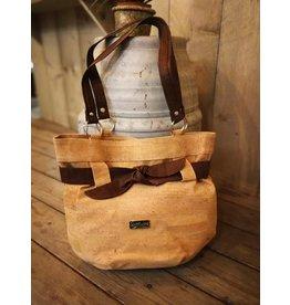 MARIA - Bag  with brown ribbon