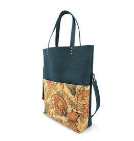 c896d4a24 Fold over bag Vicky Turquoise