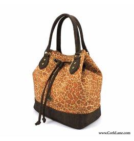 Captain Cork CHANTAL - Buckle bag with strap giraffe