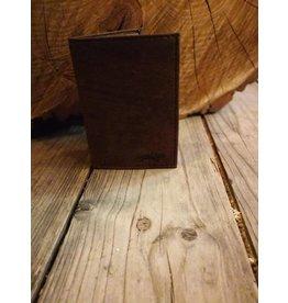 Heren portefeuille in bruin