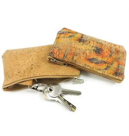 EVELINE - Exchange purse with keychain natural