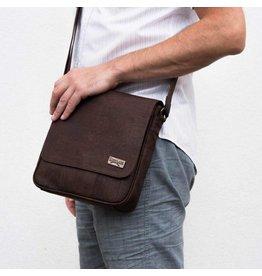 Captain Cork Shoulder bag Messenger Robin in brown