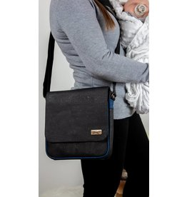 ROBIN - Messenger bag black