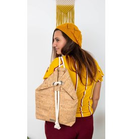 backpack Sandy with cord natural
