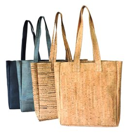 Captain Cork Tote bag / grote shopper Helena  navy blauw