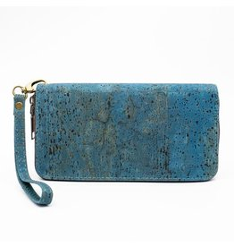 Captain Cork Purse with wristlet Turquoise