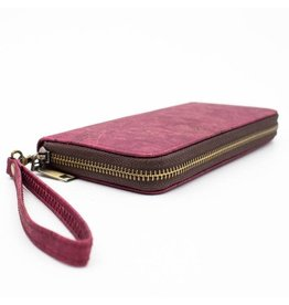 Captain Cork Purse with wristlet red