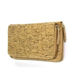 Captain Cork Clutch / large woman's purse with card holder