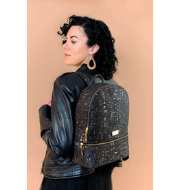Captain Cork PETRA - Backpack black/gold