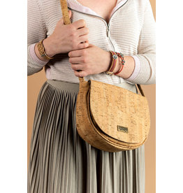Captain Cork NORA - Sadle bag Naturel / Captain Cork Label